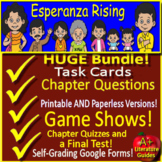 Esperanza Rising NOVEL STUDY Distance Learning - Printable & SELF-GRADING GOOGLE