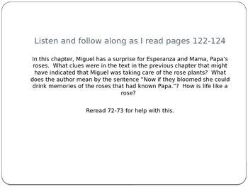 Esperanza Rising Lesson 8