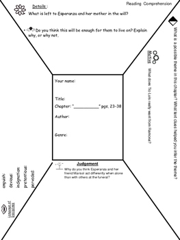 Esperanza Rising Lit. Circles With Depth & Complexity CH. 1-7