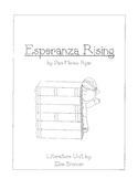 Esperanza Rising - Literature Unit - Common Core Aligned