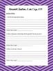 Esperanza Rising Module 1 Unit 2 ELA Common Core Homework/Reflection Journal
