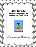 Esperanza Rising Module Units 2 and 3