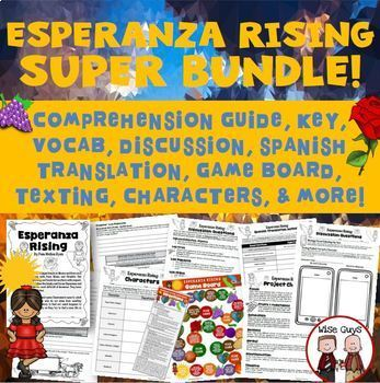 Esperanza rising bundle novel study by wise guys tpt esperanza rising bundle novel study ccuart Choice Image