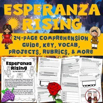 Esperanza Rising Bundle Novel Study
