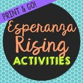 Esperanza Rising Novel Unit Study Activities, Book Compani