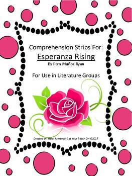 Esperanza Rising Novel Study Comprehension Strips
