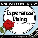 Esperanza Rising Novel Study | Distance Learning | Google