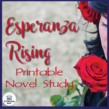 Esperanza Rising Novel Study Book Unit Printable Version