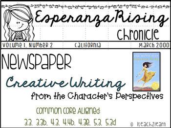 Esperanza Rising - Novel Study - Creative Writing