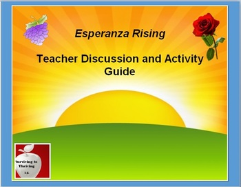 Esperanza Rising Novel Study: Discussion and Activity Guide