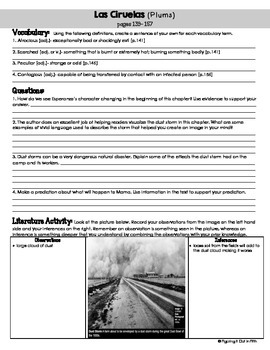 Esperanza Rising Novel Study Packet