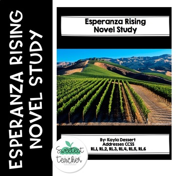 Esperanza Rising Novel Study Preview