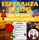 Esperanza Rising Novel Unit Activity Projects