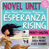 Esperanza Rising Novel Unit | Common Core