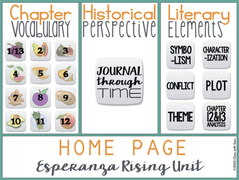 Esperanza rising novel unit common core by class with sass tpt esperanza rising novel unit common core ccuart Choice Image