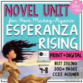 Esperanza Rising FULL NOVEL UNIT | Bundled