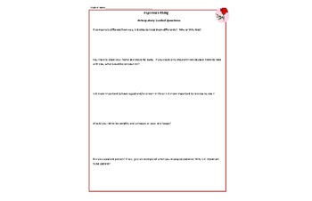 Esperanza Rising Novel Unit Study Guide  and Activities Common Core aligned