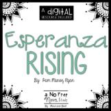 Esperanza Rising Novel Study and DIGITAL Resource