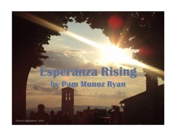 Esperanza Rising PowerPoint