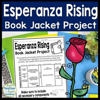 Esperanza Rising Project: Create a Book Jacket! (A Book Re