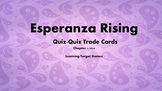 Esperanza Rising Figurative Language Quiz-Quiz Trade Cards for Chapter 1/1924