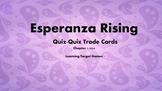 Esperanza Rising Figurative Language Quiz-Quiz Trade Cards