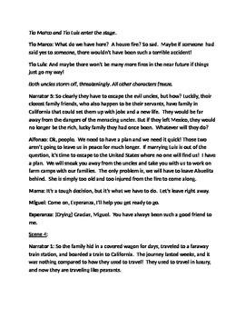 """Esperanza Rising"" Reader's Theater Script - Fully Editable!"