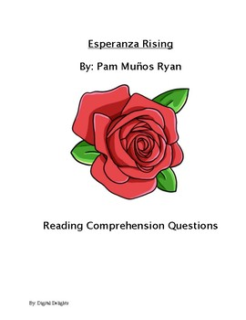 Esperanza Rising Reading Comprehension Questions