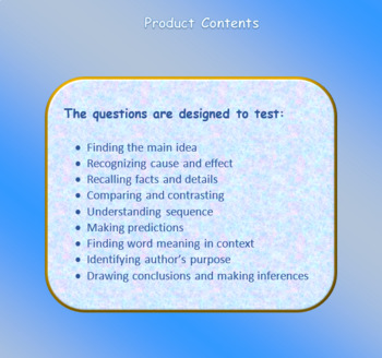 Esperanza Rising Reading Comprehension Test - Chapters 7 & 8