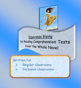 Esperanza Rising Reading Comprehension Tests