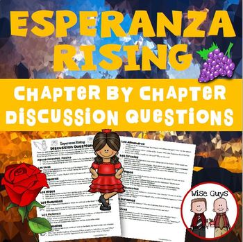 Esperanza Rising Reading Discussion Questions