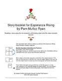 Esperanza Rising - Story Elements Booklet