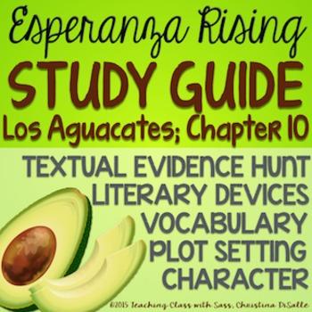 Esperanza Rising: Study Guide - Chapter 10 {Los Aguacates}