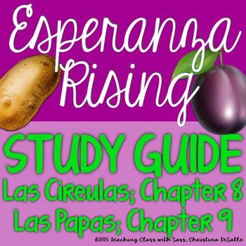 Esperanza Rising: Study Guide - Chapter 8 & 9 {Las Cireula