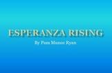 Esperanza Rising Study Guide in PowerPoint