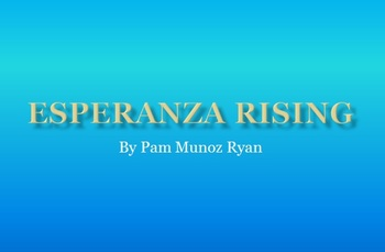 Esperanza Rising Study Guide in PowerPoint