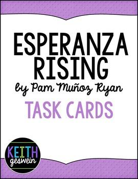 Esperanza Rising Task Cards