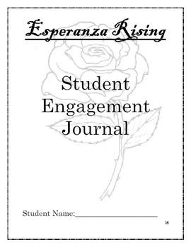 Esperanza Rising Novel Unit Student Activities