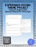 Esperanza Rising Theme Project