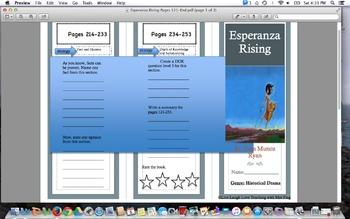 Esperanza Rising Tri-Fold Pg. 121-End