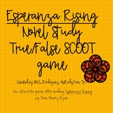 Esperanza Rising True/False SCOOT game