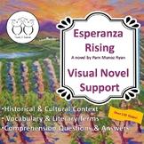 Esperanza Rising Novel Study Visual Text Support