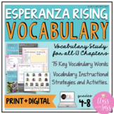 Esperanza Rising | Vocabulary Study