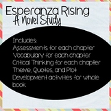 Esperanza Rising Complete Novel Study (Editable!)