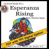 Esperanza Rising, by Pam Munoz Ryan: A PDF & Easel Digital