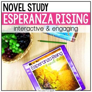 Esperanza Rising (by Pam Munoz Ryan): A Novel Study