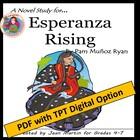 Esperanza Rising, by Pam Munoz Ryan: A Novel Study