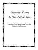 Esperanza Rising by Pam Munoz Ryan Book Club Discussion Guide