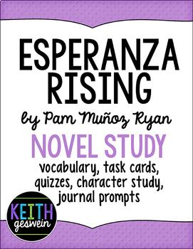 Esperanza Rising Novel Study Bundle
