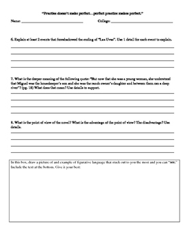 Esperanza Rising by Pam Munoz Ryan - Reading Analysis, 14 assignment pack